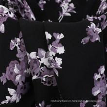 Pattern  Print Shirt Printed Rayon Fabric Stock