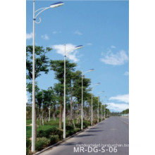 Single Arm Lamp Pole for Street Light 5m