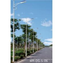 Poste de luz de braço único para luz de rua 5m