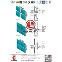 Алюминиевая композитная панель Globond Plus PVDF (PF138)