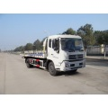 DongFeng 4*2 green machine road sweeper truck