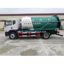 Dongfeng Small vacuum sewage suction tanker truck