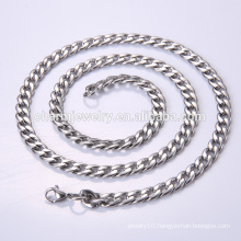 Wholesale Fashion Stainless Steel Necklace Chain Jewelry Free Sample BSL001