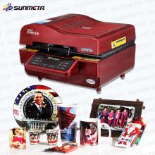 3d de sublimacion de prensa de calor maquina De Vacio transferencia Impresora Ciss Sub
