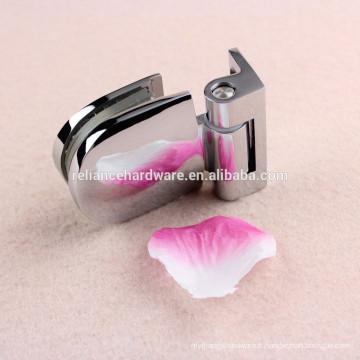 Vente chaude laiton matériel verre porte de douche charnière pivot