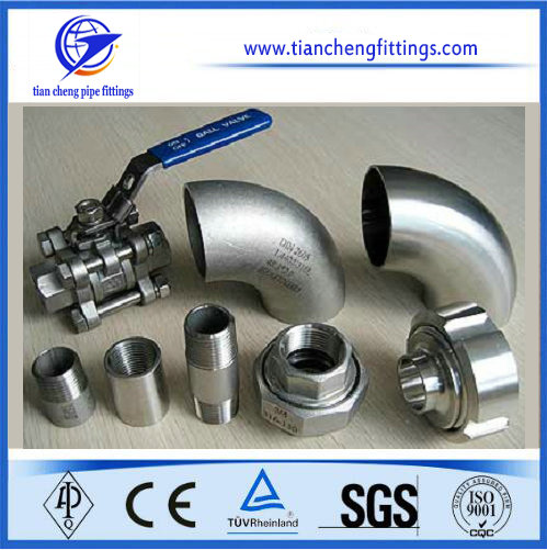 Carbon Steel Barrel Pipe Nipple