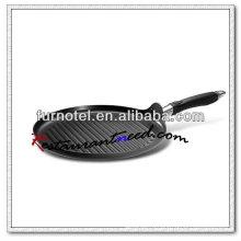 S119 диам 300мм плоская Калиброванная круглая антипригарная Сковорода-Гриль