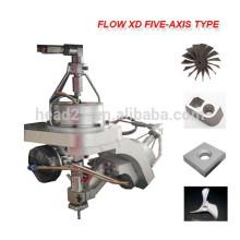 Made in china 5 eixo CNC máquina de corte de jato de água