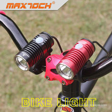 Maxtoch KNIGHT XML U2 Black Or Red Color Powerful Cree T6 Bicycle Light