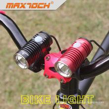 Maxtoch knight strictest obra 6061 aircraft-grade de alumínio xml u2 cree led bicicleta cabeça de luz