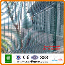 Galvanized and Powder coated Anti-climb 358 Fence
