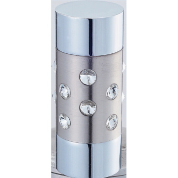 Zylinder mit Crystal Vorhang Rod Kreuzblume