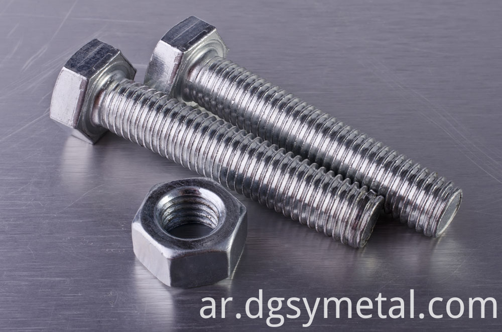 steel hex bolts