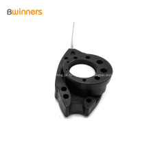 Dispositivos da braçadeira da suspensão do cabo pendente da qualidade superior FTTH braçadeira da âncora