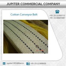 Correia transportadora de algodão de alta resistência com baixo preço de mercado