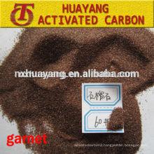30/60 mesh sand blasting garnet abrasive