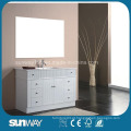 Gabinete de banheiro MDF de pintura brilhante
