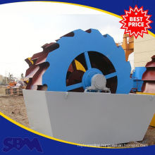 low production cost screw sand washing machine for xircom