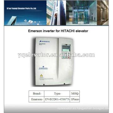 Impulsor del elevador de Emerson EV-ECD01-4T0075