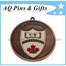 Khalsa School Medal with Enamel Color