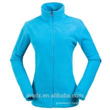 Nouvelle veste en molleton douce et douce pour femmes pour hommes Manteaux légers colorés et doux
