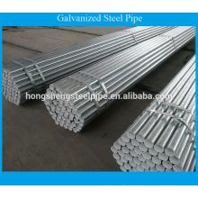 Bs1387 tubo de aço galvanizado / preço de tubo de aço galvanizado