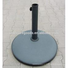 Конкретные патио зонтик базы