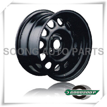 "Daytona-Non Beadlock Wheels GS-201-1 Steel Wheel from 15"" to 17"" with different PCD, Offset and Vent hole"