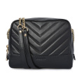 Sleep Leather Bolso moderno Bolsa de regalo Negro