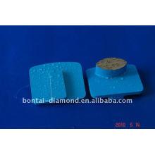 Placa de diamante para hormigón