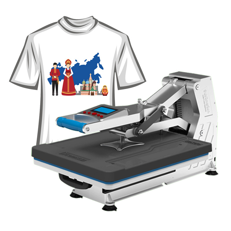 Freesub t shirt heat transfer press designs china manufacturer for T shirt manufacturing machine in india