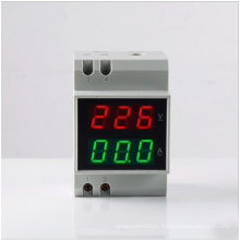 2015 Double Rin-Rail D52-2042 Moniteur de tension numérique Indicateur AC Voltmètre Tête Mètre à courant alternatif Ampère