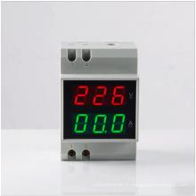 2015 Двойной Rin-Rail D52-2042 Цифровой индикатор напряжения переменного тока Вольтметр переменного тока AC Токовый измерительный прибор Амперметр