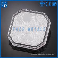 Fabricant de pièces métalliques personnalisé pièce d'argent