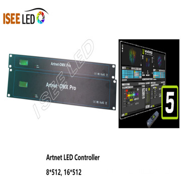 Madrix 5 DMX LED Artnet 컨트롤러