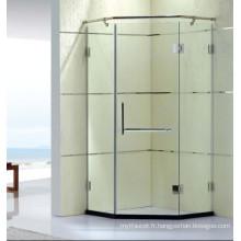 Charnière Comportive Comportementable Doublure de douche en verre trempé avec revêtement propre (K31)