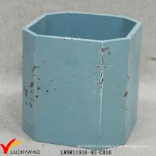 Оптовый сортированный цвет Малый Ель Декоративные древесины Плантатор Box