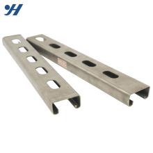 Оптовая оцинкованная Стандарт JIS C канал стандартных размеров, оцинкованный металл канал
