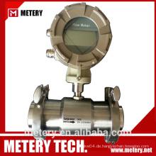 Sanitär Flüssig-Turbinen-Durchflussmesser MT100TB