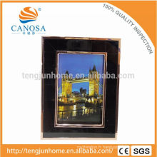 Eco Friendly Pen Shell Frame Photo avec Golden Edge