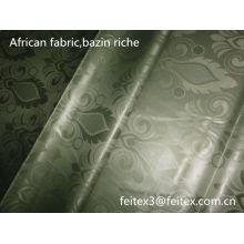 Базен риш дешевые оптовая новое прибытие акции африканских одежды ткани 10 ярдов/мешок полиэфира жаккарда Гвинея парчи дамасской