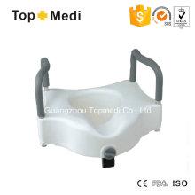 Topmedi Raised WC Sitz mit Armlehne