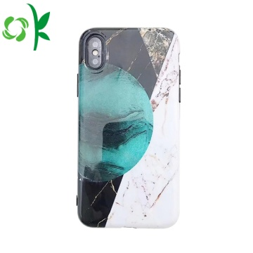 Oregelbunden Mode TPU-telefonöverdrag för Iphone 8 / X / XR / XS