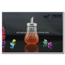 Kitchen Use 200ml Empty Glass Sauce Bottle