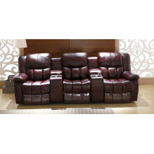 New Arrival Home Theater Sofa, Modern Leather Recliner Sofa (GA06)