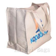 Sac fourre-tout réutilisable en toile réutilisable en coton (hbco-103)