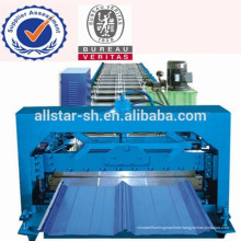 2013 Hot Sale 7.5KW Concealed Roll Forming Machine For Roof Sheet LS-780-75