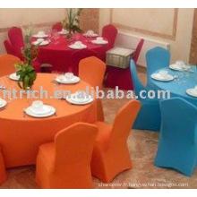Couverture de chaise de Lycra, couverture de chaise d'hôtel/banquet