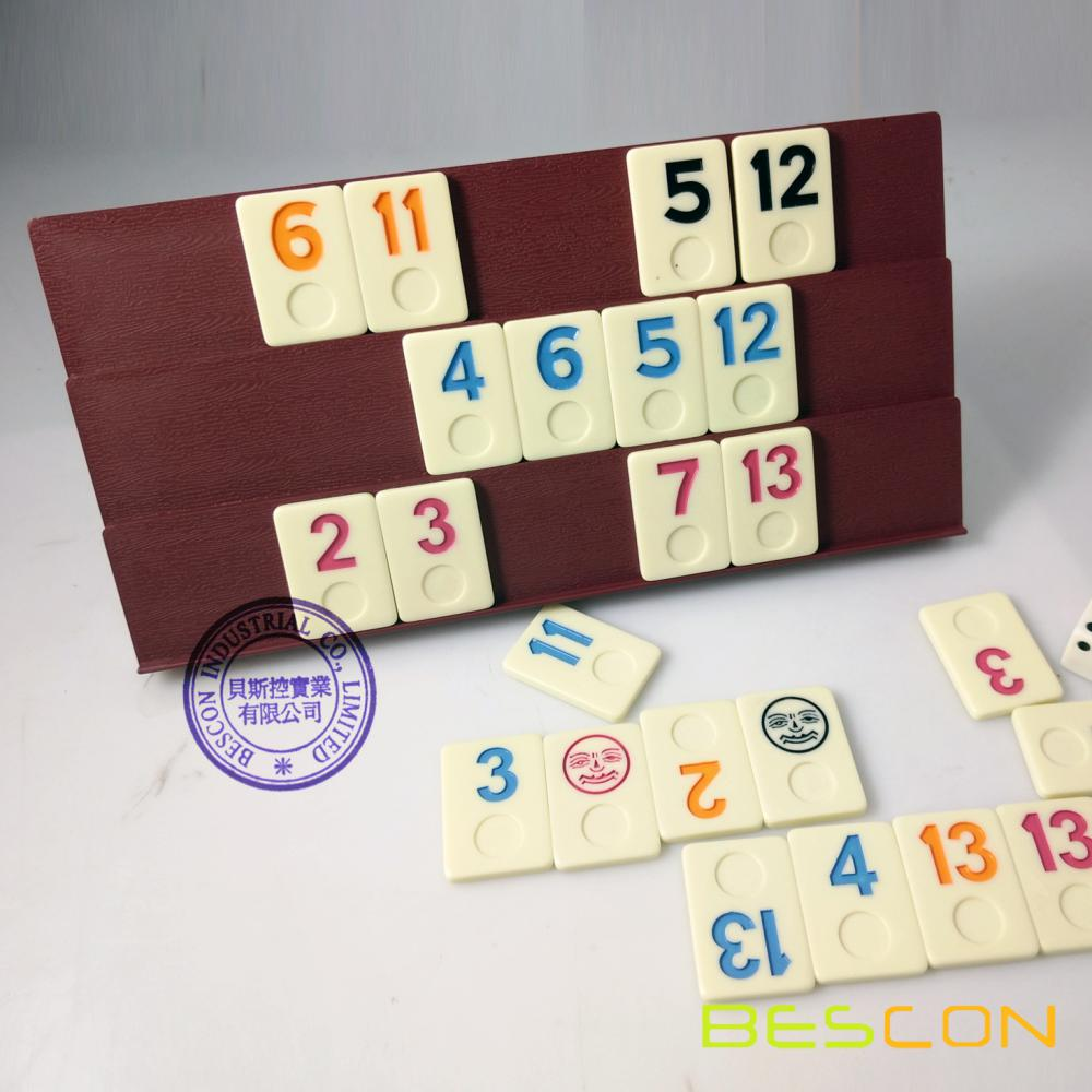 Rummy Tiles, Rummy Set, Classic Rummy Game Set in Tinbox