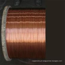Fio de aço revestido de cobre ASTM CCS padrão como fio de transporte para ferrovias